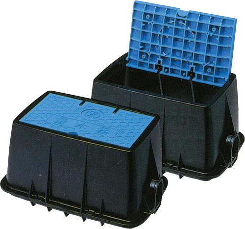 上水道関連製品 ボックス製品 量水器ボックス MB 25Rシリーズ MB-25RHW Mコード:20441 前澤化成工業