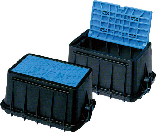 量水器ボックス MB 25Sシリーズ MB-25SBW Mコード:20745 前澤化成工業 上水道関連製品 ボックス製品