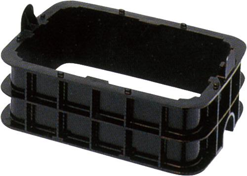 量水器ボックス MB 調整枠MBS MBS-75X100ボルト付65L Mコード:21533 前澤化成工業 上水道関連製品 ボックス製品