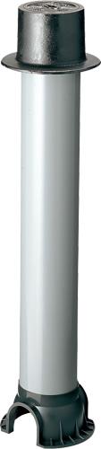 上水道関連製品 制水弁筐 VBSH (固定式) VBSH-D (止水弁文字) VBSH-D1200 Mコード:38018 前澤化成工業