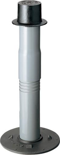上水道関連製品 制水弁筐 VBBHN (ネジタイプ) VBBHN-C (制水弁文字) VBBHN-C1200L Mコード:38142 前澤化成工業