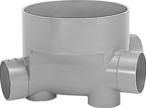 下水道関連製品 ビニマス M 100-300シリーズ 45度合流段差付 (45YS) M-45YS右100-300 Mコード:41226 前澤化成工業