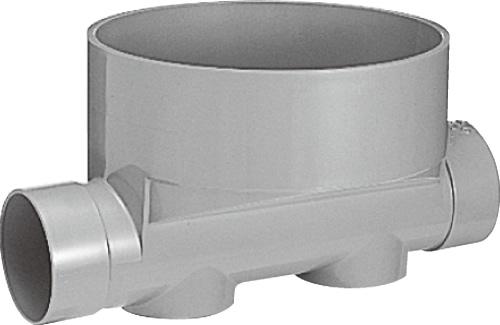 下水道関連製品 ビニマス M 100-300シリーズ ストレート (ST) M-ST100-300 Mコード:41234 前澤化成工業