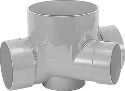 下水道関連製品 ビニマス M 125-200シリーズ 45度合流 (45Y) M-45Y左125X100-200 Mコード:41447 前澤化成工業