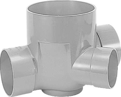 下水道関連製品 ビニマス M 125-200シリーズ 45度合流段差付 (45YS) M-45YS右125X100-200 Mコード:41452 前澤化成工業
