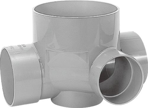 下水道関連製品 ビニマス M 125-200シリーズ 90度合流 (90Y) M-90Y右125X100-200 Mコード:41456 前澤化成工業
