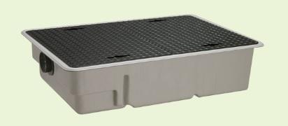 環境機器関連製品 グリーストラップ FRP製グリーストラップ パイプ流入超浅型 GT-XL-P GT-XL100P テツフタツキ Mコード:81655 前澤化成工業 [メーカー直送][代引不可]