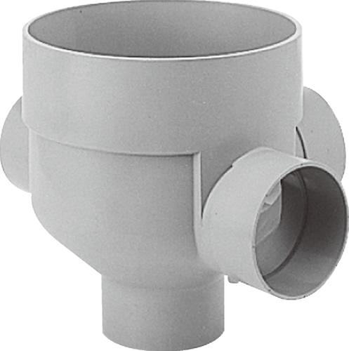 下水道関連製品 ビニマス M 125-300シリーズ 90度左右合流ドロップ M-DR90WY125-300 Mコード:41579 前澤化成工業
