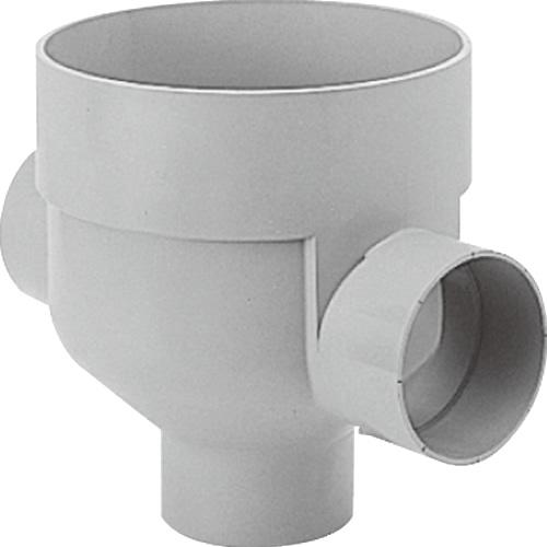 下水道関連製品 ビニマス M 125-300シリーズ 左右合流ドロップ (DRW) M-DRW125-300 Mコード:41580 前澤化成工業