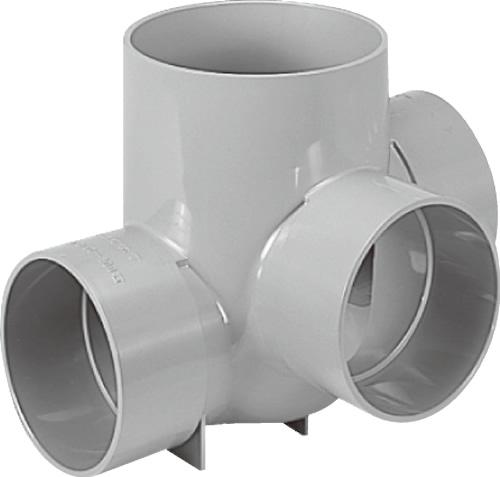 下水道関連製品 ビニマス M 150-200シリーズ 90度合流段差付 (90YS) M-90YS左150-200 Mコード:41755 前澤化成工業