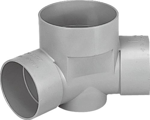 下水道関連製品 ビニマス M 150-200シリーズ 45度曲り (45L) M-45L兼150-200 Mコード:41765 前澤化成工業