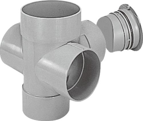 下水道関連製品 ビニマス M 150-200シリーズ 90度左右合流ドロップC付 MC-DR90WY150-200 Mコード:41793 前澤化成工業