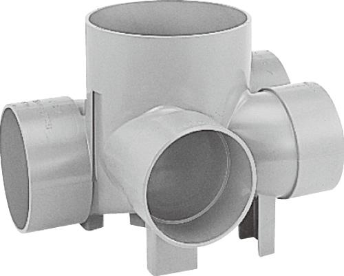 下水道関連製品 ビニマス MX 150-200シリーズ 平行/90度合流段差付 (H-YS) MX-H-YS左150X125-200 Mコード:41796 前澤化成工業