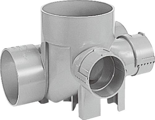 下水道関連製品 ビニマス MA 150-200シリーズ 平行/90度合流段差付 (H-YS) MA-HYS右150X100-200 Mコード:41807 前澤化成工業