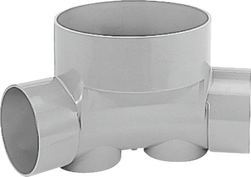 下水道関連製品 ビニマス M 150-300シリーズ 45度曲り (45L) M-45L右150-300 Mコード:41876 前澤化成工業