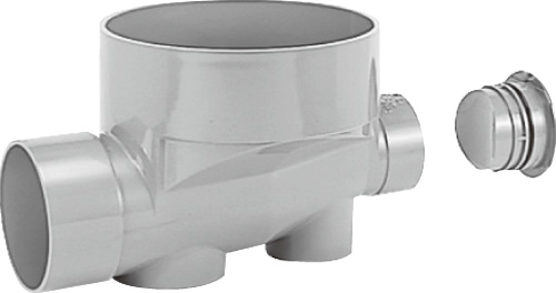 下水道関連製品 ビニマス M 150-300シリーズ ストレートキャップ付 (ST) MC-ST150X100-300 Mコード:41884 前澤化成工業