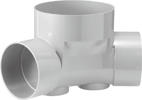 下水道関連製品 ビニマス M 200-300シリーズ 45度曲り (45L) M-45L左200-300 Mコード:41915 前澤化成工業