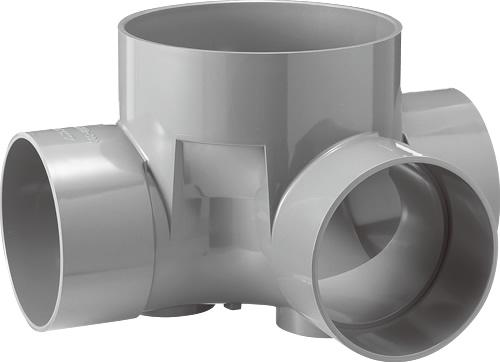 下水道関連製品 ビニマス M 200-300シリーズ 90度合流 (90Y) M-90Y左200-300 Mコード:41920 前澤化成工業
