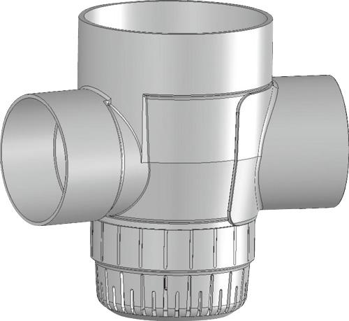 下水道関連製品 雨水マス/雨水浸透マス PVC製雨水浸透マス SUMA SUMA 200-300シリーズ SUMA-90L200-300 Mコード:42088 前澤化成工業