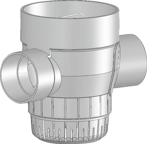 下水道関連製品 雨水マス/雨水浸透マス PVC製雨水浸透マス SUMA SUMA 150-300シリーズ SUMA-90Y150-300 Mコード:42097 前澤化成工業