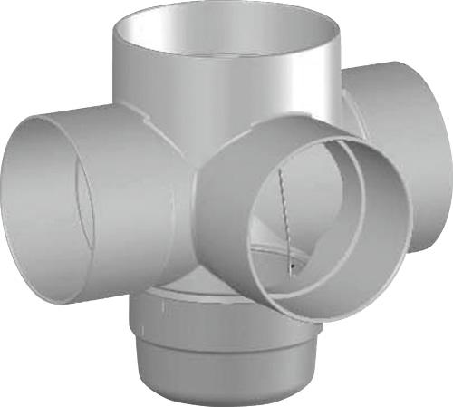 下水道関連製品 雨水マス/雨水浸透マス PVC製雨水マス UMA UMA 250-300シリーズ UMA-45L250-300 Mコード:42115 前澤化成工業