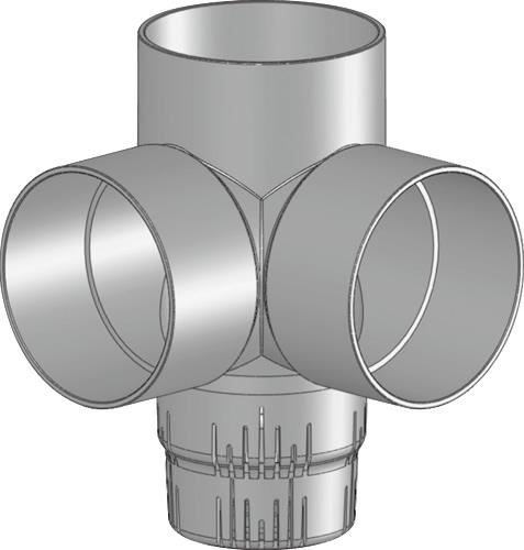 下水道関連製品 雨水マス/雨水浸透マス PVC製雨水浸透マス SUMA SUMA 200-200シリーズ SUMA-ST200-200 Mコード:42241 前澤化成工業