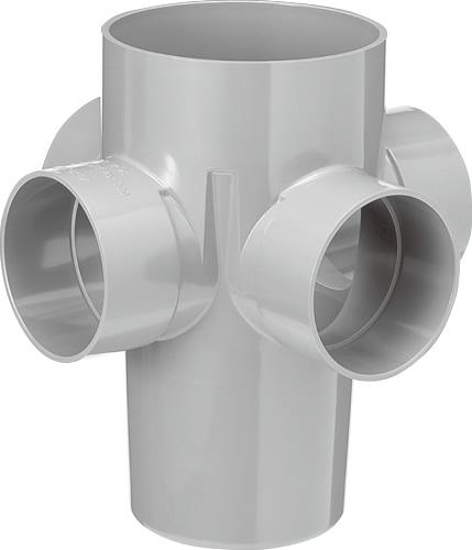 下水道関連製品 雨水マス/雨水浸透マス PVC製雨水マス UMA UMA 125-200シリーズ UMA-90L125-200 Mコード:42263 前澤化成工業
