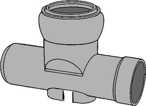 下水道関連製品 ビニホール 傾斜対応型ビニホール 200 KFVHS200-200シリーズ KFVHS-ST200-200 Mコード:46002 前澤化成工業