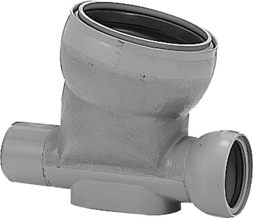 下水道関連製品 ビニホール 傾斜対応型ビニホール 300 KF15VHF150-300 KF15VHF-ST150-300 Mコード:46540N 前澤化成工業