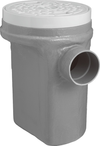 下水道関連製品 タメマス/分離マス 分離マス コンパクト型分離マス BMC BMCミギ100-300 Mコード:49101 前澤化成工業