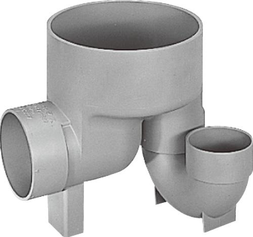 下水道関連製品 ビニマス M 100-200シリーズ 起点トラップ (UTK) M-UTK100X100P-200 Mコード:49752 前澤化成工業