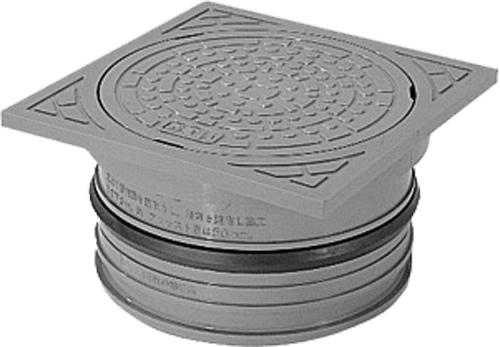 下水道関連製品 蓋 グレーシリーズ CA-AI-R 特別セール品 グレー Mコード:50082 CAAIRグレー15角鎖 完全送料無料 角 前澤化成工業