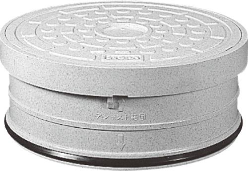 下水道関連製品 蓋 300/350 ライト蓋 CA-AI-R ライト300 CA-AI-Rライト300L^うすい Mコード:51753 前澤化成工業