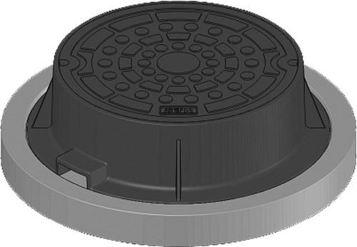 下水道関連製品 防護蓋 350シリーズ T14Aタイプ BH-T14A350VE^おすいN Mコード:60672 前澤化成工業