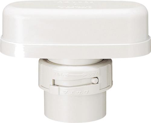 下水道関連製品 排水特殊継手 排水用吸気弁 スリム吸気弁 HBVU HBVU40セット Mコード:70708 (前澤化成工業、積水、東栄管機 他) 配管部品,管材