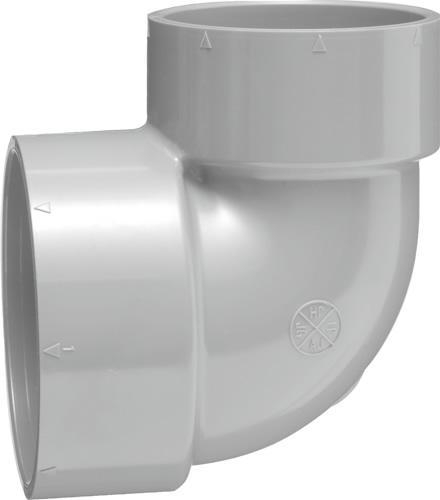 (20個入り) 下水道関連製品 排水特殊継手 VP排水特殊継手 VP異径エルボ VPL VPL100X75 Mコード:71215 (前澤化成工業、積水、東栄管機 他) 配管部品,管材