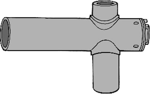 下水道関連製品 下水道継手 ビニ内副管/マンホール継手 S型内副管用マンホール継手MRV-S MRV-S250-200 Mコード:75378 (前澤化成工業、積水、東栄管機 他) 配管部品,管材