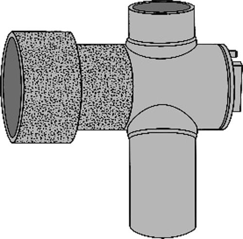 下水道関連製品 下水道継手 ビニ内副管/マンホール継手 ヒューム管本管用内副管用マンホール継手MRH MRH250-200 Mコード:75388 (前澤化成工業、積水、東栄管機 他) 配管部品,管材
