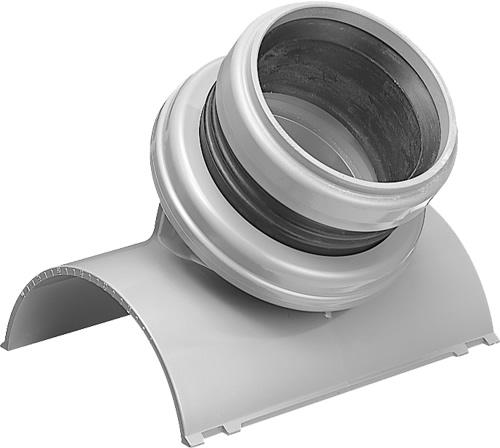 下水道関連製品 下水道継手 浅層埋設支管 浅埋支管 MF-SSVR MF-SSVR150-100 Mコード:75498 (前澤化成工業、積水、東栄管機 他) 配管部品,管材