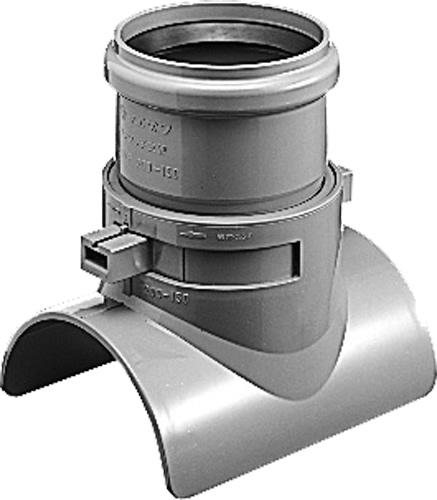 下水道関連製品 下水道継手 ワンタッチ支管 ゴム輪受口 MSVR MF-MSVR200-150 Mコード:75505N (前澤化成工業、積水、東栄管機 他) 配管部品,管材
