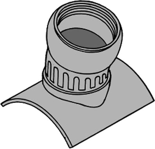 下水道関連製品 下水道継手 自在支管 ヒューム管用75度自在支管 75SHRF 75SHRF250-200 Mコード:75762 (前澤化成工業、積水、東栄管機 他) 配管部品,管材