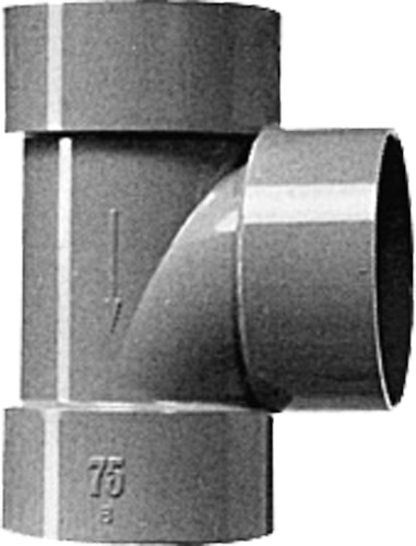 DV90゜Y HDT250 Mコード:76746 (前澤化成工業、積水、東栄管機 他) 下水道関連製品 DV継手/VU継手 DV継手配管部品,管材