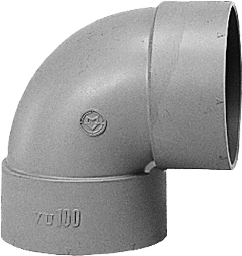 下水道関連製品 DV継手/VU継手 VU継手 VUエルボ VUL250 Mコード:77003 (前澤化成工業、積水、東栄管機 他) 配管部品,管材