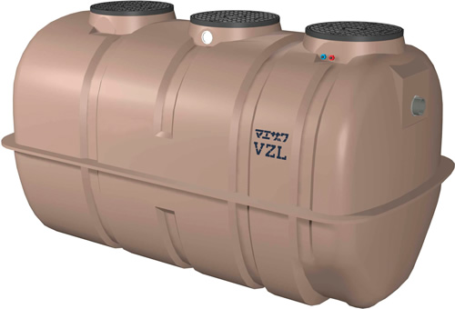 環境機器関連製品 浄化槽 マエザワ浄化槽 放流ポンプ付 VZL型 21~50人槽 T-2 VZL21 T6 100-60 Mコード:80265N 前澤化成工業