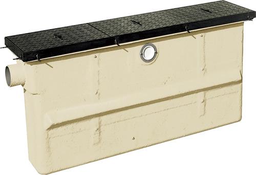 環境機器関連製品 グリーストラップ FRP製グリーストラップ パイプ流入埋設スリム型GTC-P GTC-200P-A 鉄蓋付 Mコード:81326 前澤化成工業