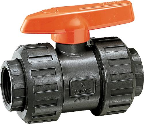その他製品 MSバルブ 自在型ボールバルブ ネジ式 VBNU VBNU40赤禁油 Mコード:85419 前澤化成工業