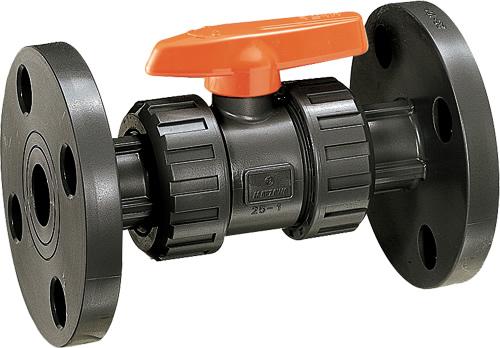 その他製品 MSバルブ 自在型ボールバルブ フランジ式 VBFU VBFU40赤5KB Mコード:85491 前澤化成工業