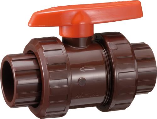 その他製品 MSバルブ 耐熱HT 自在型ボールバルブ TS式 スケールカット式 HTVBTU40赤スケールカットB Mコード:85752 前澤化成工業