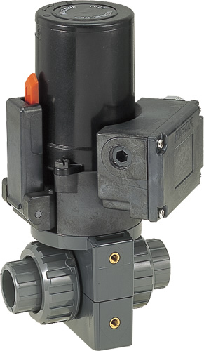 その他製品 MSバルブ 電動ボールバルブ TS式100V/VBET VBET25-100B Mコード:86212 前澤化成工業