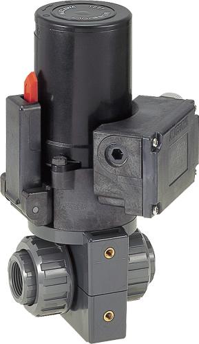 その他製品 MSバルブ 電動ボールバルブ ネジ式100V/VBEN VBEN25-100 Mコード:86261 前澤化成工業